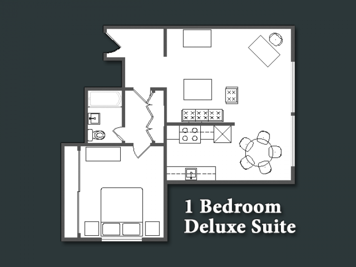 1 Bedroom Deluxe Suite