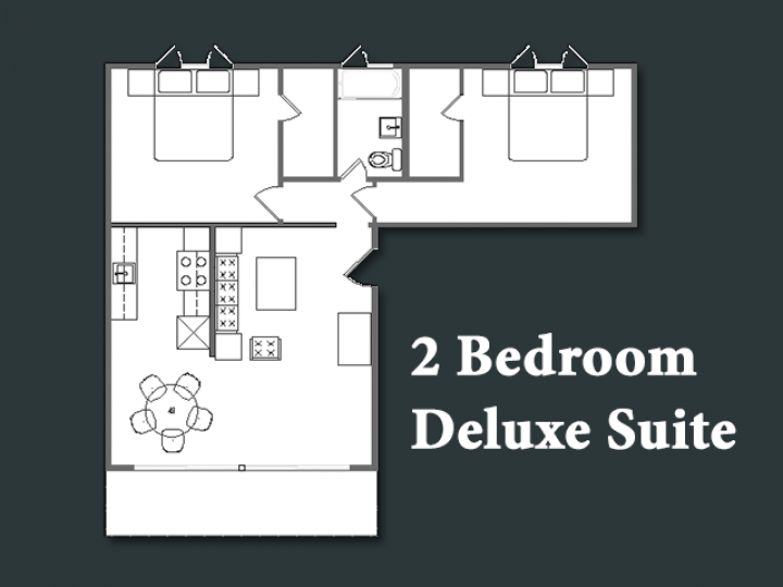 2 Bedroom Deluxe Suite
