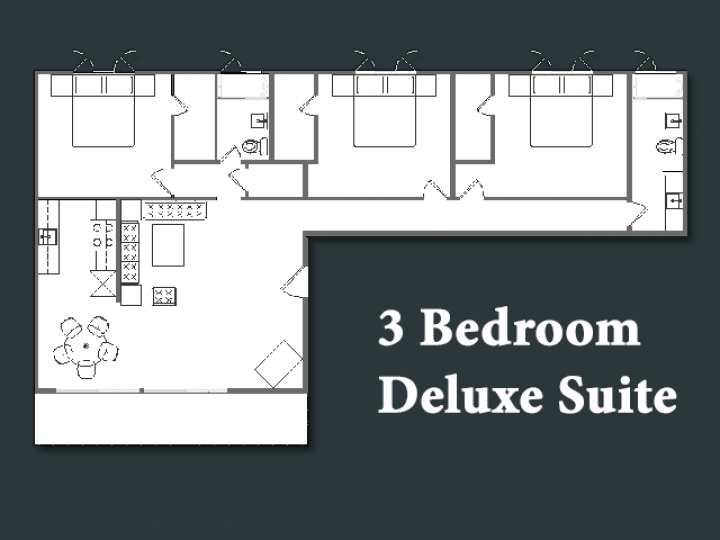 3 Bedroom Deluxe Suite
