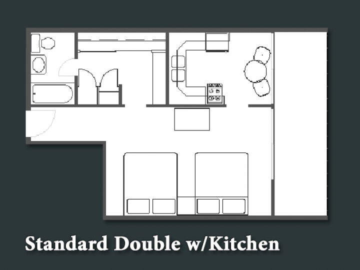 Standard Double w/ Kitchen